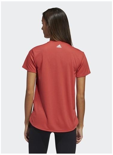 adidas adidas GQ9423 BOS LOGO TEE Kadın T-Shirt Kırmızı